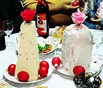 """俄罗斯族 独特的""""圣诞节""""与""""复活节"""""""