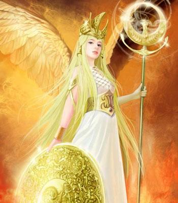 中被看成是智慧女神; 雅典娜; 腊神话中被看成是智慧女神