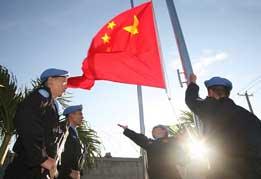 中国维和警察防暴队
