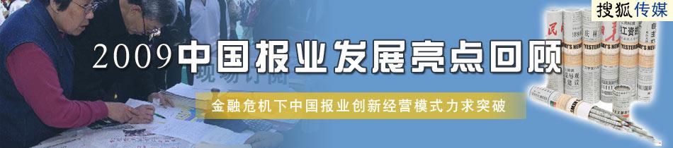 中国报业,2009,发展,回顾