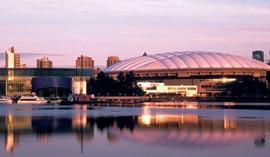 哥伦比亚体育馆,2010温哥华冬奥会