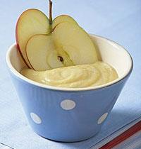 苹果米粉泥