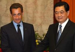 法国总统萨科齐28日开始访华