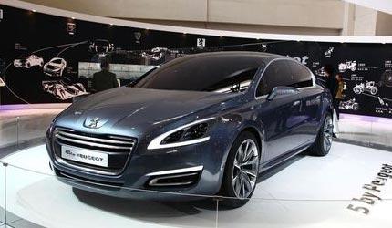 5 by Peugeot概念车