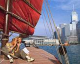 鸭灵号帆船游维港