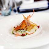 龙虾薄切沙律配柚子伴薄荷芥末醋汁,Aspasia,香港意大利餐厅,帝乐文娜公馆