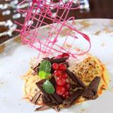 自制威尼斯式千层饼配香草鲜忌廉,Zeffirino Ristorante,香港意大利餐厅