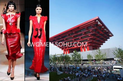 世博会 时装 建筑 各国场馆