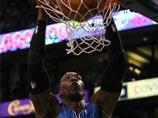 魔兽肆虐抢板暴扣一气呵成 NBA魔术VS凯尔特人