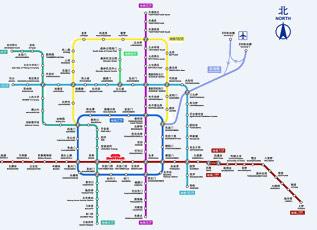 长沙地铁规划图
