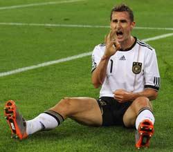 南非世界杯,德国VS澳大利亚,克洛泽