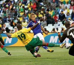 南非世界杯,日本VS喀麦隆,本田圭佑