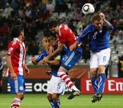 南非世界杯,意大利VS巴拉圭,