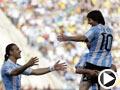 阿根廷庆祝,韩国队前锋朴周永送乌龙