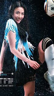 阿根廷宝贝神似张柏芝