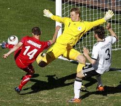 南非世界杯,德国VS塞尔维亚,约万诺维奇