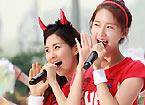 韩国艺人助阵世界杯
