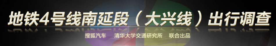 有奖调查:地铁4号线南延段(大兴线)居民出行意愿调查