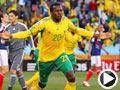 南非-库马洛(20号)破门得分