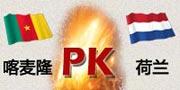 喀麦隆VS荷兰