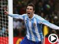 阿根廷-伊瓜因(9号)破门得分