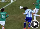 梅西挑传送出精妙助攻 特维斯越位进球被判有效