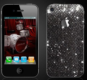 施华洛世奇,镶钻,iPHONE 4