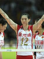 薛明,2010世界女排大奖赛总决赛