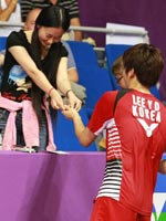 李龙大,2010羽毛球世锦赛
