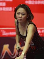 张舒涵,女子九球世锦赛