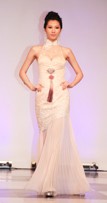 青年设计师婚纱作品秀