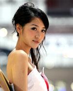 2008北京车展人气车模