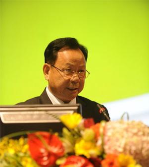 中国机械工业联合会会长王瑞祥致欢迎词