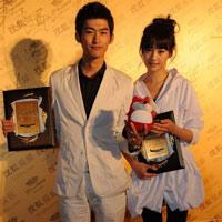 2010秋季电视剧互联网盛典与狐狐合影