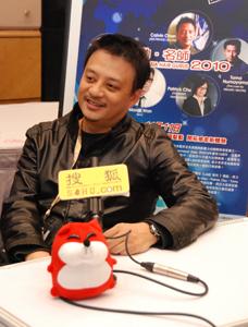 2010年亚太美容展,Calvin现场采访