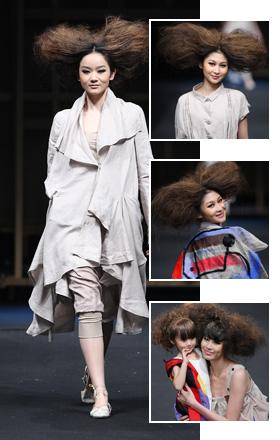 刘星作品,模特,设计师,时尚