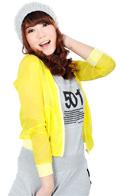 上海颜色:黄色
