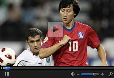 视频集锦-池东沅2球妖刀秀勺子 韩国完胜夺季军