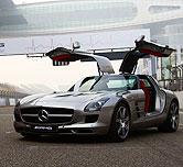 奔驰SLS AMG 3秒内让你心跳加速
