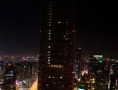 北京国贸三期熄灯后