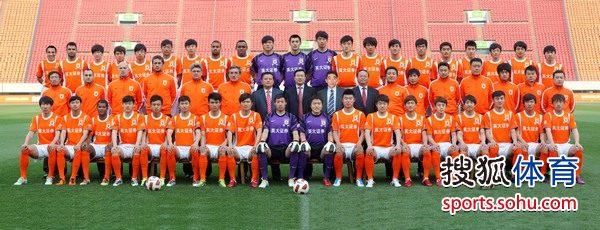 2011山东鲁能全家福
