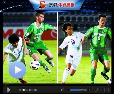 视频-阿穆迪小角度世界波 杭州客场0-1负