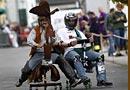 爆笑德国办公椅竞速比赛