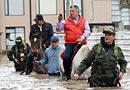 哥伦比亚首都遭大水袭击