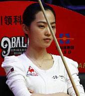 车侑蓝,美女,九球北京公开赛