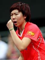 李晓霞,2011世乒赛