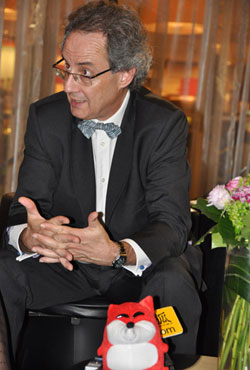 娇兰大中华区总裁Philippe Sode