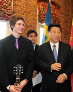 国家副主席,习近平,访问斯德哥尔摩,孔子学院,汉语