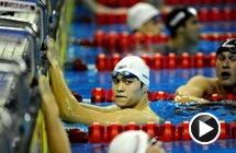 世锦赛孙杨不敌朴泰桓 男子400米自由泳摘银牌