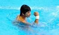 邱波,上海游泳世锦赛